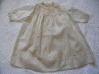 Antique Vict. BABY CHRISTENING Baptismal GOWN DRESS Beautiful