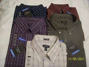 Heusen No Iron SS Dress Shirts Big and Tall Bargain Priced NWT