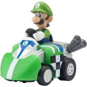 Takara Tomy Choro Q Super Mario Kart Luigi WIND UP Car