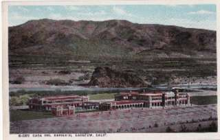 Casa Del Desierto, BARSTOW, CA Postcard