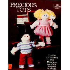 Tots : Life Size Soft Sculpture Dolls: Various Contributors: Books