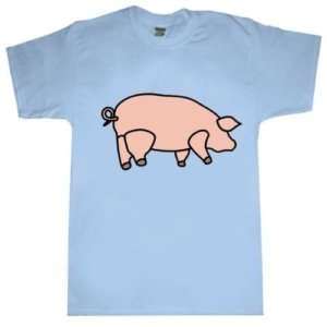 Pink Floyd T shirt Battersea Pig Blue Small to X Large