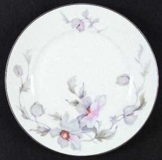 Thun Thuny Czech Pink Purple Flowers 16665 Dinner Plate