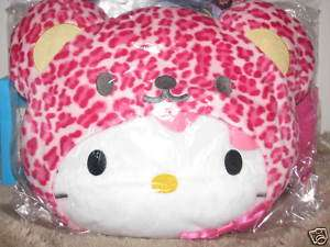 Sanrio Hello Kitty Big Cusion Bear Head Plush Doll