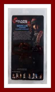 of War 2 Series 4 Marcus Fenix Theron Disguise Action Figure NECA MIP