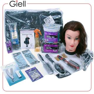 Cosmetology Basic Hair Styling and Cutting School Kit