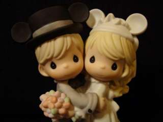 Precious Moments Disney Bride/Groom Theme Park Exclus