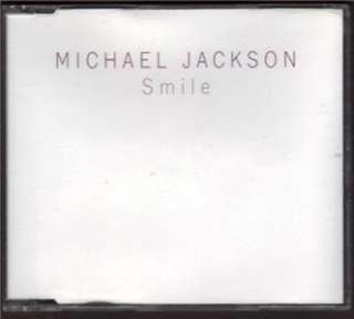 ORIGINAL MICHAEL JACKSON SMILE SINGLE AUTHENTIC DJ RARE PROMO 1997 CD