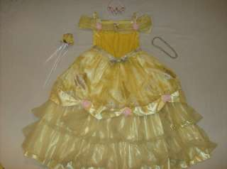 Disney Princess Belle costume girl dress 10 Deluxe