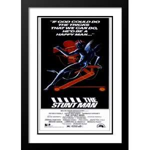 Stunt Man 20x26 Framed and Double Matted Movie Poster