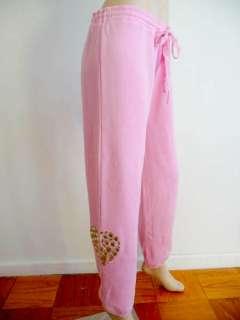 NWT Victorias Secret LOVE PINK Heavy Bling Rhinestone School Fit