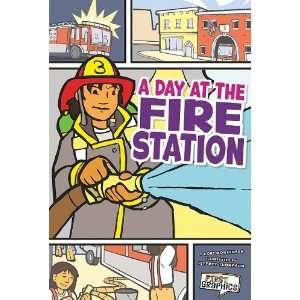 Day at the Fire Station, A (First Graphics My Community