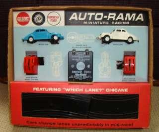 Vintage 1960s 1/32 Scale Gilbert American Flyer Auto Rama Slot Car