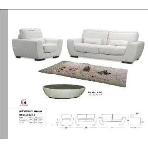 BLISS Full leather Sofa, LoveSeat BLISS Full Italian