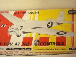 BERKELEY * GRUMMAN F6F HELLCAT * C/L MODEL AIRPLANE KIT**