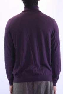 XL NWT Hugo Boss Purple Keaton Turtleneck Pull Over Wool Blend Sweater