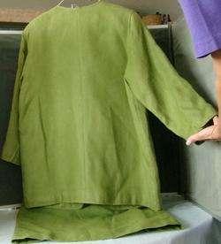 Beautiful 3pc Couture OSCAR DE LA RENTA Skirt SUIT Sz 16 Made in USA