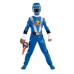 Power Rangers Blue Rangers RPM Kids Costume, 10 12 Toys