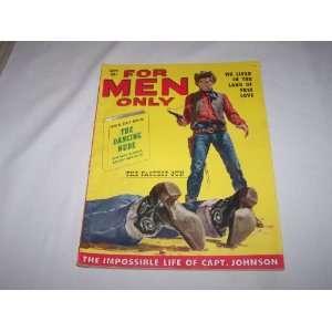 For Men Only Magazine September 1957 (We Lived in the Land