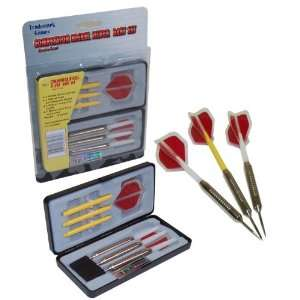 Best Quality TGT Competitor Nickel Silver Dart Set   3