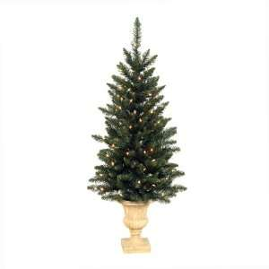Fir Artificial Christmas Tree   Clear Dura Lit Lights