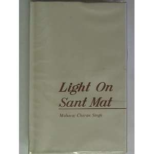 Light on Sant Mat: Maharaj Charan SINGH: Books