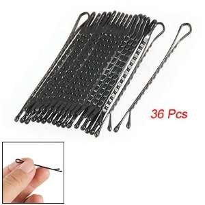 Lady Briefness Hair Barrette Clips Bobby Pin Blk 36 Pcs Beauty