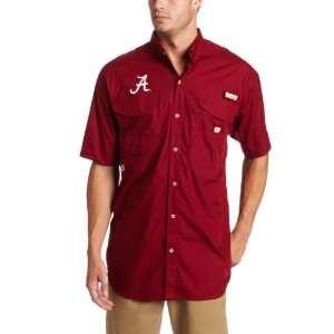 NCAA Mens Alabama Crimson Tide Collegiate Bonehead Short Sleeve Shirt