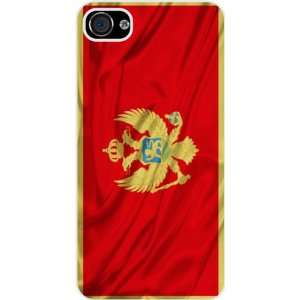 Rikki KnightTM Montenegro Flag White Hard Case Cover for