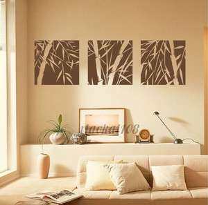 Bamboo DIY Removable Wall Art Deco Decal Sticker Wall Paper #40