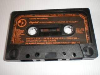 BLACK SABBATH Master of Reality   MC tape YUGOSLAVIA