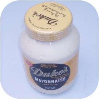 Dukes Mayonnaise 1 Quart Jar of Duke Dukes Mayo