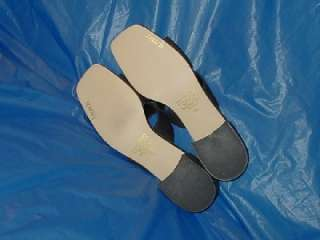 Womens Black Slide, Dress or Casual Shoe.size 9 M ( B )