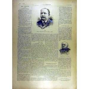 1893 Portrait Turpin Admiral Paris French Print Home & Kitchen