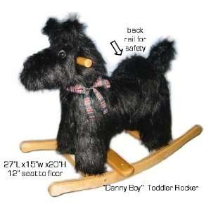 ZEI 2414 Danny Boy Black Scottie Rocker Toys & Games