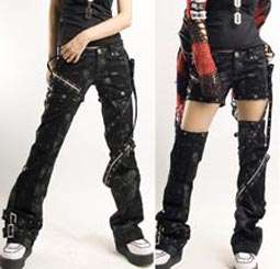 Kera VISUAL KEI PUNK GOTHIC Leggings Tights Pants K120 items in JC