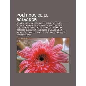 Políticos de El Salvador: Schafik Jorge Handal Handal, Mauricio