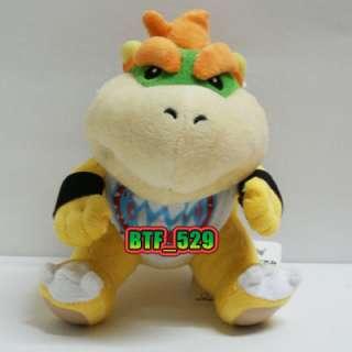 New Super Mario Brothers Plush Figure ( 61/2 Bowser JR ) x