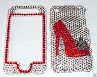 BLING CASE COVER FOR IPHONE 3G 3GS MADE WITH SWAROVSKI ELEMENTS
