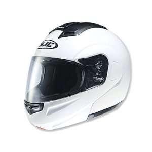 HJC Sy Max Full Face Modular Helmet Small  White