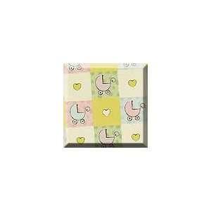 1ea   24 X 100 Baby Buggies Gift Wrap Health & Personal
