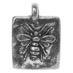 Green Girl Studios Pewter Sweet Honey Bee Pendant 18mm (1
