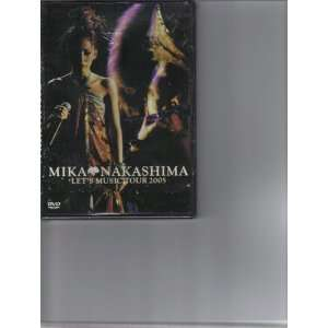 MIKA NAKASHIMA LETS MUSIC TOUR 2005 (DVD) Everything