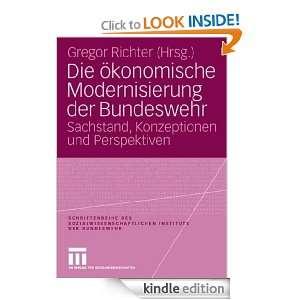 Die ökonomische Modernisierung der Bundeswehr Sachstand
