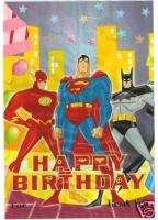 12 Superman Batman Party Favor Goody Loot Treat Bag