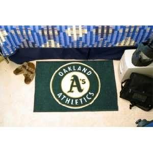 MLB Oakland Athletics As Team Logo Door Mat Sports