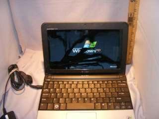 Dell Inspiron Mini 10 Blue Netbook   Broken Screen