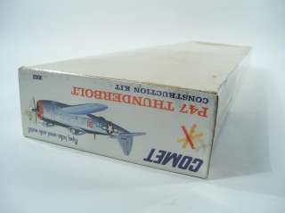Comet Republic P47 Thunderbolt Flying Balsa Scale Model Airplane Kit
