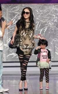 Summer fashion Beautiful Tiger Head T shirts Dress T10 A