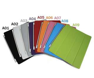 Style 360 Rotating Stand Magnetic Smart Leather Case Cover F iPad 2
